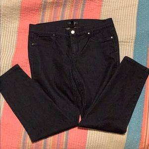 WHBM Black Skinny Jeans